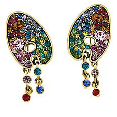 "Heidi Daus ""Stroke of Sparkle"" Crystal Earrings"