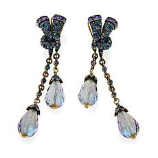 "Heidi Daus ""Style Abundance"" Crystal Drop Earrings"