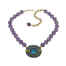 "Heidi Daus ""Suit Your Taste"" Beaded Drop Necklace"