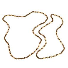 "Heidi Daus ""Take II"" 2-piece Beaded Necklace Set"