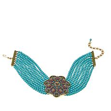 "Heidi Daus ""The Cat's Meow"" 9-Strand Beaded Choker"