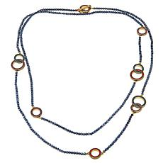 "Heidi Daus ""The Long and Short of It"" Beaded Crystal 65"" Necklace"