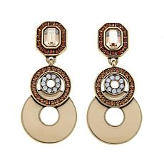 "Heidi Daus ""Totally Irresistible"" Drop Earrings"