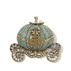 "Heidi Daus ""Your Carriage Awaits"" Crystal Pin"