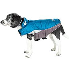 Helios Extra Small Hurricane-Waded Plush Reflective Dog Coat