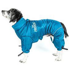 Helios Thunder-crackle Full-Body Waded-Plush Reflective Dog Jacket