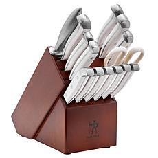Henckels Statement 15-piece Knife Block Set - White