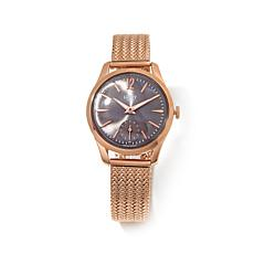"Henry London ""Finchley"" Rosetone Stainless Steel Watch"