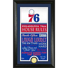 "Highland Mint ""House Rules"" Bronze Coin Photo Mint - Philadelphia 7..."