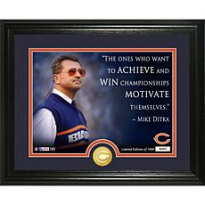 Highland Mint Mike Ditka Quote Bronze Coin Photo Mint