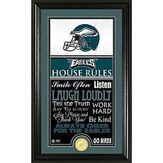 Highland Mint Philadelphia Eagles House Rules Supreme Photo Mint