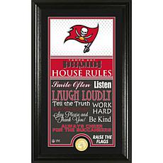 Highland Mint Tampa Bay Buccaneers House Rules Supreme Photo Mint