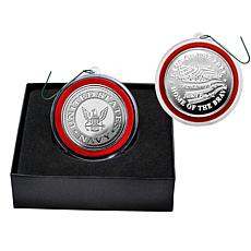 Highland Mint United States Navy Silver Mint Coin Ornament
