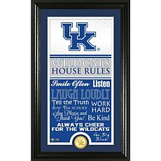 "Highland Mint University of Kentucky ""House Rules"" Coin Photo Mint"
