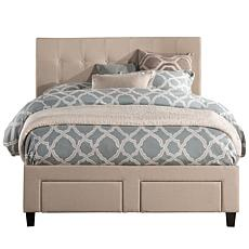 Hillsdale Duggan Front Storage Bed with Rails - Queen