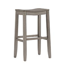 Hillsdale Furniture Fiddler Barstool - Aged Gray Wood