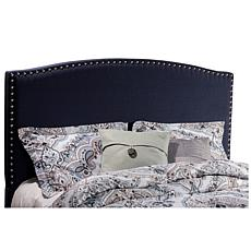 Hillsdale Furniture Kerstein King Headboard with Frame - Navy Linen
