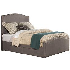 Hillsdale Kerstein Storage Bed w/Rails - Cal King