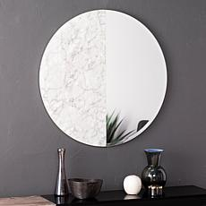 Holly & Martin Bowers Round Decorative Mirror - White