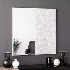 Holly & Martin Bowers Square Decorative Mirror - White