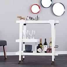 Holly & Martin Zhori Bar Cart - White