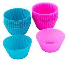 Holstein Fun 24-Piece Silicone Baking Cups Set
