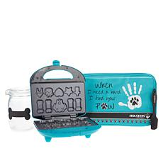 Holstein Pet Treat Maker Set with Recipe Book and Bag
