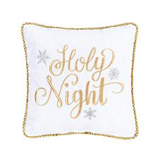 Holy Night Pillow Gold