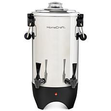 HomeCraft Quick-Brewing 1000-Watt Automatic 45-Cup Coffee Urn