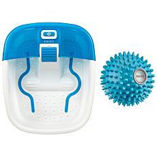HoMedics Bubble Bliss Deluxe Footspa and Atlas Acu-Node Massager