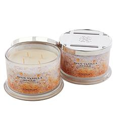 HomeWorx by Harry Slatkin 2-pack 4-Wick Candles - Spun Vanilla Sugar