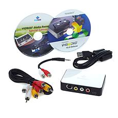 Honestech 10 Plus Video-to-PC Digital Transfer Bundle w/Audio Recorder