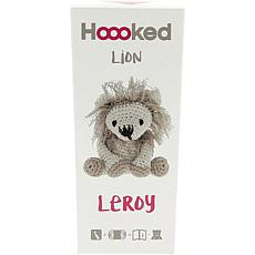 Hoooked Lion Leroy Yarn Kit with Eco Brabante Yarn - Beige and Taupe