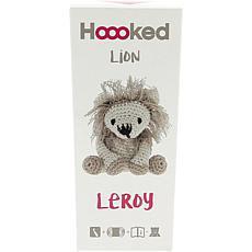 Hoooked Lion Leroy Yarn Kit with Eco Brabante Yarn - Beige and Taupe
