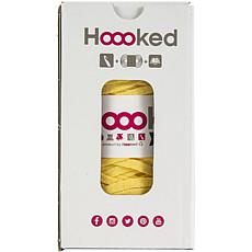 Hoooked Tablet Cover Yarn Kit with RibbonXL - Lemon Yellow
