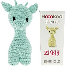 Hoooked Ziggy Giraffe Kit with Eco Barbante Yarn - Spring