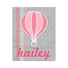 "Hot Air Balloon Personalized Canvas - 11"" x 14"""