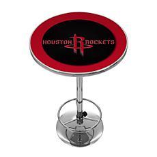 Houston Rockets NBA Chrome Pub Table