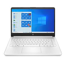 """HP 14"""" AMD 3020e 4/64 Non-Touch Laptop with Office 365 - White"""