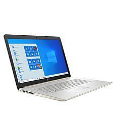 "HP 17.3"" Intel Celeron 8GB RAM 128GB SSD Laptop with Voucher"