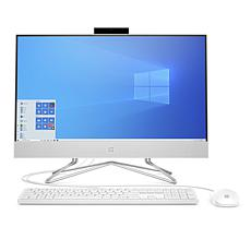 "HP 24"" Core i5 12GB RAM 512GB SSD All-in-One with Keyboard and Mouse"