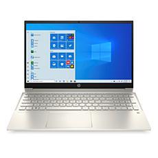 """HP Pavilion 15-eg0072nr 15.6"""" Ci3 8/256 Touch Laptop (Warm Gold)"""