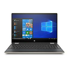 "HP Pavilion x360 15.6""  Intel 8GB RAM, 1TB Convertible Touch Laptop"