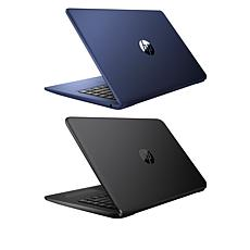 """HP Stream 2-Pack 14"""" Laptops with Microsoft Office 365 & Tech Support"""