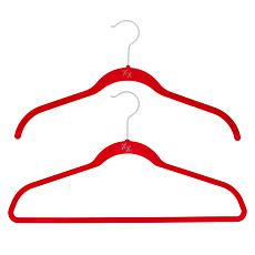 Huggable Hangers 60-pack of Shirt & Suit Hangers with Brass Hooks