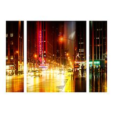 "Hugonnard ""Urban Stretch NYC IV"" Panel Art - 24"" x 32"""