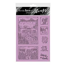 Hunkydory Crafts For the Love of Stamps - Cottage Garden A6 Stamp Set