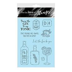 Hunkydory Crafts For the Love of Stamps - Gin-credible A6 Stamp Set