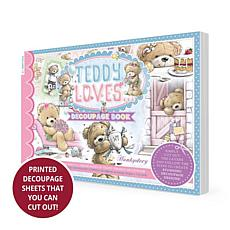 Hunkydory Crafts Teddy Loves Decoupage Book