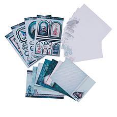 Hunkydory Teal Treasures Card Making Kit